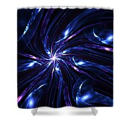 Abstract Fractal 051910 Shower Curtain