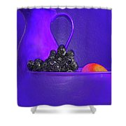 Abstract Fruit Art 53 Shower Curtain
