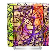 Abstract Fun 11 Shower Curtain