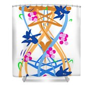Abstract Garden #3 Shower Curtain by Bee-Bee Deigner