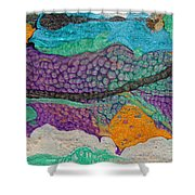 Abstract Garden Of Thoughts Shower Curtain