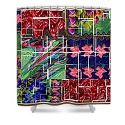Abstract Graphic Art By Navinjoshi At Fineartamerica.com Elegant Interior Decoractions Print On Thro Shower Curtain