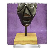 Abstract Head Shower Curtain