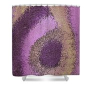 Abstract In Pink Shower Curtain