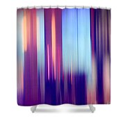 Abstract Jewels  Shower Curtain