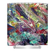 Abstract Jungle 7 Shower Curtain