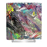 Abstract Jungle 9 Shower Curtain