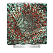Abstract Air Landing  Shower Curtain