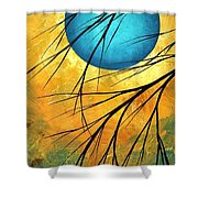 Abstract Landscape Art Passing Beauty 1 Of 5 Shower Curtain