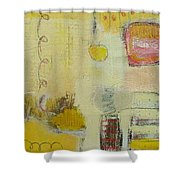 Abstract Life 1 Shower Curtain