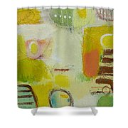Abstract Life 2 Shower Curtain