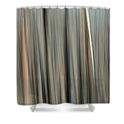 Abstract Lodgepole Pine 2 Shower Curtain