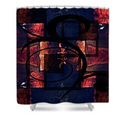 Abstract Me Shower Curtain