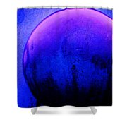 Abstract Metal Ball Shower Curtain