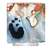 Abstract Modern Art - The Vessel - Sharon Cummings Shower Curtain
