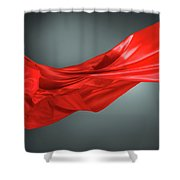 Abstract Motion Cloth Shower Curtain