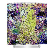 Abstract Musings Shower Curtain