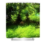 Abstract Nature 834 Shower Curtain