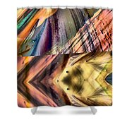 Abstract Nito An Abstract Shower Curtain