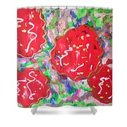Abstract Nr 49 Shower Curtain