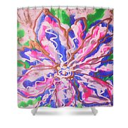 Abstract Nr 51 Shower Curtain