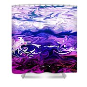 Abstract Ocean Fantasy One Shower Curtain