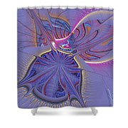 Abstract Of Cells Shower Curtain