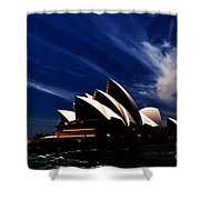 Abstract Of Sydney Opera House Shower Curtain