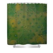 Abstract Oil And Water 10 Shower Curtain