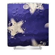 Abstract Oil And Water 2 Shower Curtain