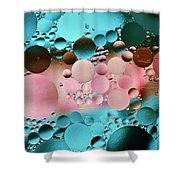 Abstract Oil And Water Shower Curtain