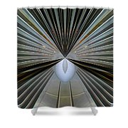 Abstract Old Car Vent Shower Curtain
