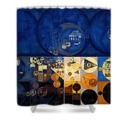 Abstract Painting - Apache Shower Curtain