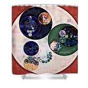 Abstract Painting - Bizarre Shower Curtain