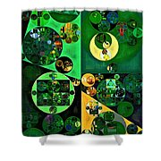 Abstract Painting - Camarone Shower Curtain