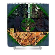Abstract Painting - Cello Shower Curtain