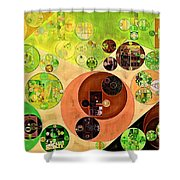 Abstract Painting - Chenin Shower Curtain