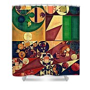 Abstract Painting - Cherokee Shower Curtain