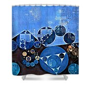 Abstract Painting - Endeavour Shower Curtain
