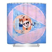 Abstract Painting - Loulou Shower Curtain
