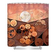 Abstract Painting - Paarl Shower Curtain