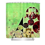 Abstract Painting - Reef Shower Curtain