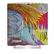 Abstract Painting Shower Curtain
