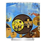Abstract Painting - Rob Roy Shower Curtain
