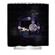 Abstract Painting - Rose Quartz Shower Curtain