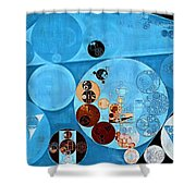 Abstract Painting - Spray Shower Curtain