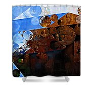 Abstract Painting - Spring 2015 Shower Curtain