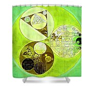 Abstract Painting - Sulu Shower Curtain