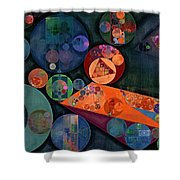 Abstract Painting - Tango Shower Curtain