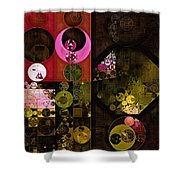 Abstract Painting - Tonys Pink Shower Curtain